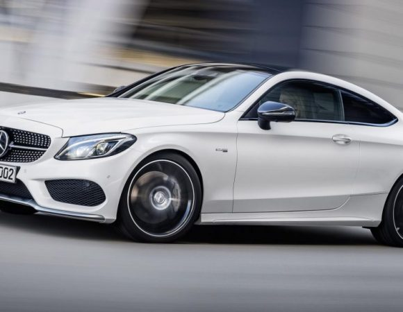The 2017 Mercedes C43 AMG Coupe