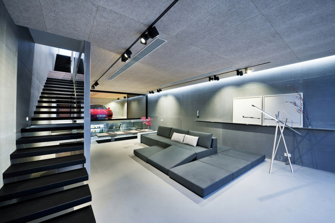 split-level-hong-kong-house-centered-around-a-red-ferrari-1