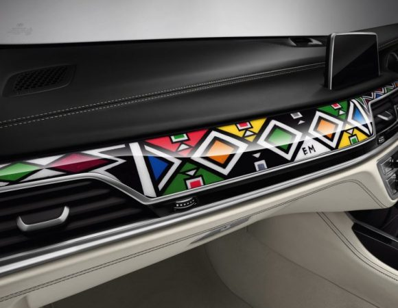 ESTHER MAHLANGU X BMW 7 SERIES