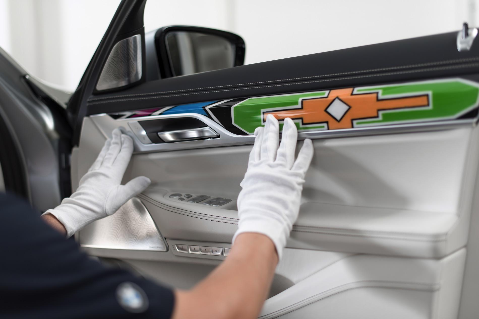 ESTER MAHLANGU X BMW 7 SERIES