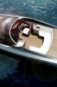 THE ASTON MARTIN POWERBOAT