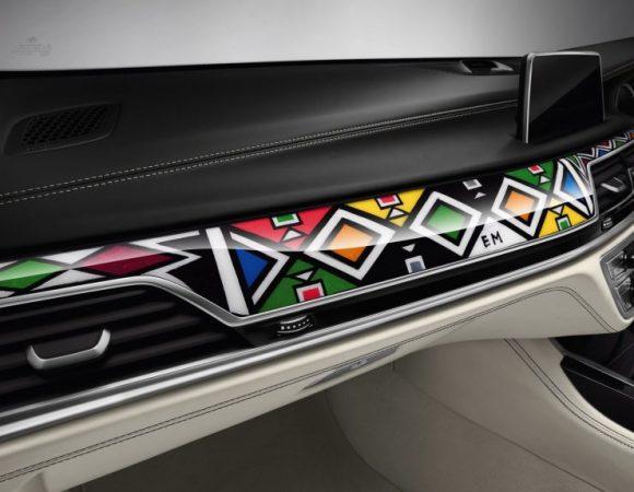 ESTHER MAHLANGU X BMW 7 SERIES